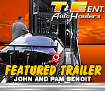 T&E Heavy Duty Top Sportsman Trailer Feature