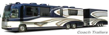 T&E  All Aluminum Coach Trailers