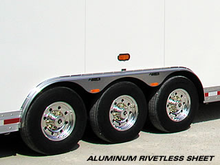 Aluminum Rivetless Construction