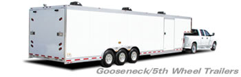 T&E  All Aluminum Gooseneck Trailers