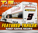 T&E Kasey Kahne Racing Team Trailers Feature