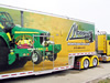 Jim Mowrey 2009 T&E 53' Tractor Pulling Semi Trailer - Exterior View