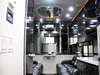 Jim Mowrey 2009 T&E 56' Tractor Pulling Semi Trailer - Interior View - Custom Lounge