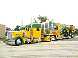 T&E Enterprises Truck and Tractor Pulling Trailers