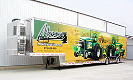Jim Mowrey 2009 T&E 56' Tractor Pulling Semi Trailer - Click to Launch Photo Gallery