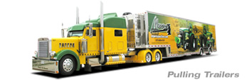 T&E  All Aluminum Pulling Trailers