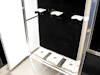 Kahne Racing T&E 53' Semi Sprint Trailer - Interior View - Front End Storage Cabinet