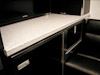 Kahne Racing T&E 53' Semi Sprint Trailer - Interior View - Lounge Area - Corian Bench Top