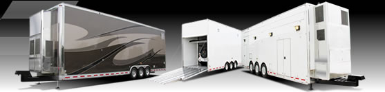 T&E Pro-Quality All-Aluminum Stacker Trailers