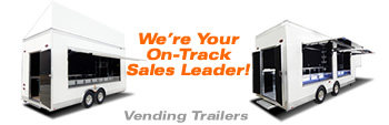 T&E  All Aluminum Custom Vending Trailers